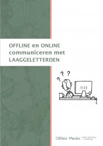 Offline en online communiceren met laaggeletterden